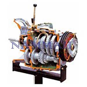 HGV Gearbox with Reduction Gear
