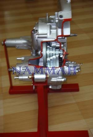 Cut Section Model pf Sliding Mesh Gear Box