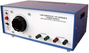 Power Supply A.C/D.C Low Tension