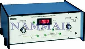 Potentiometric Error Detector