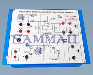 Analog Fiber Optics Trainer