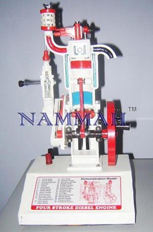 4-Stroke Diesel Engine