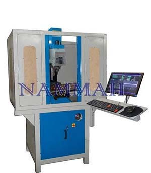 CNC Milling Machine with Cabinet & PC