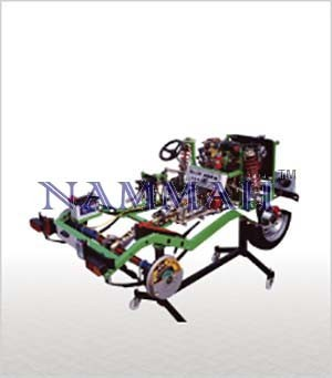 FIAT Double Shaft (DOHC) Petrol Engine Chassis