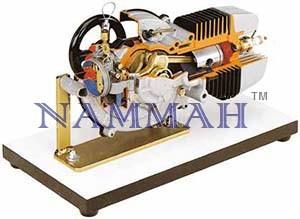 2stroke Motorcycle Petrol Engine Model
