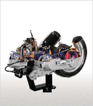 Motorcycle CVT Engines