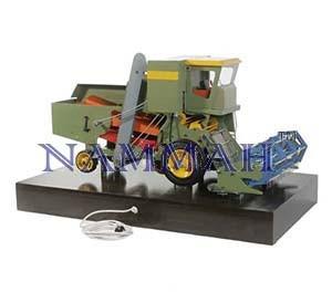 Wheat Harvester Model