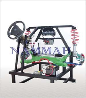 Electric Power Assisted Steering (EPS) with Suspension