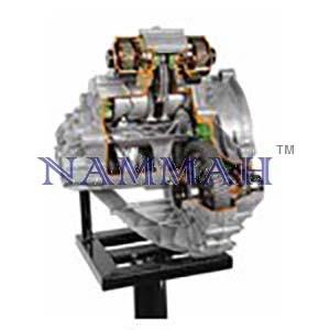 Robotised Tip Tronic Gearbox