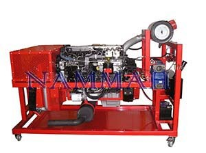 Engine Rigs (Diesel) HGV Diesel Engine Rig On Rotational Stand