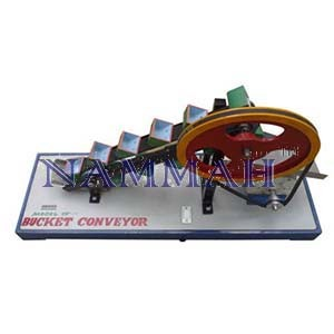 Working Model of Bucket Conveyor