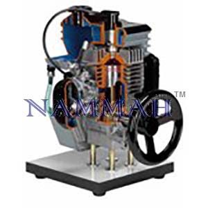 2stroke Petrol Engine