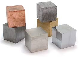 Cubes Metal - Metal Cube Set of 6
