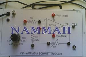 OP-Amp As Schmitt Trigger