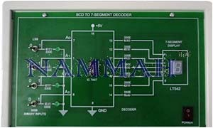 Study Of Bcd To 7-segment Decoder