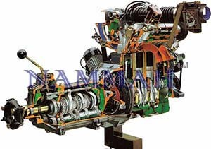 FIAT Petrol Engine (Longitudinally Mounted) with Gearbox