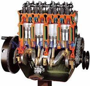 OHV Engine with Timing Chain