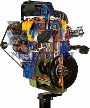 Chrysler JEEP Turbo Diesel Engine with Common-rail Intercoole