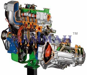 FWD Diesel Engine with Gearbox
