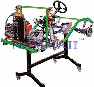 FWD Carburettor Petrol Engine Chassis