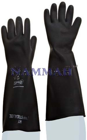 Gloves rubber heavy duty