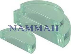 Glass Block Semicircular