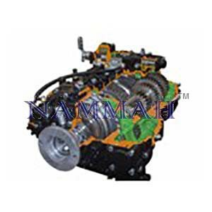 HGV ZF 16S Ecosplit Gearbox for Heavy Trucks (16 Forward Gears and 2 Reverse Gears)