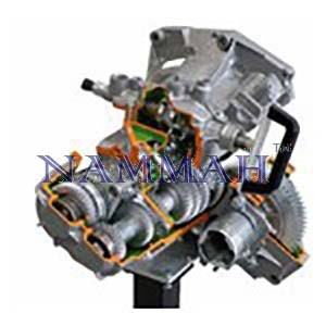 Gearbox with diiferential (5 forward gears & reverse)