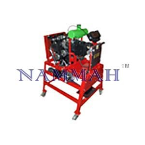Motorcycle 4 cylinder carburettor engine