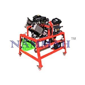 Motorcycle 2/4 cylinder injection engine