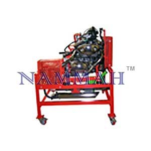 Motorcycle 1/2 cylinder carburettor engine