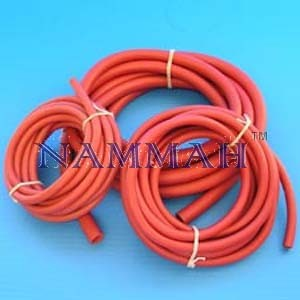 Tubing rubber red