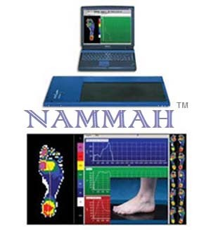 Foot pressure mapping system