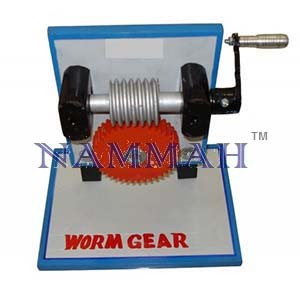 Bench Top Cutaway Model Worm Gear