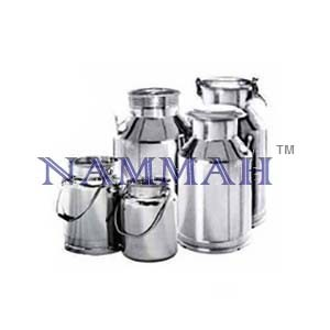 Milk Cans Aluminium/Stainless Steel