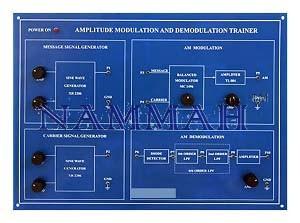 Amplitude Modulation And Demodulation Kit